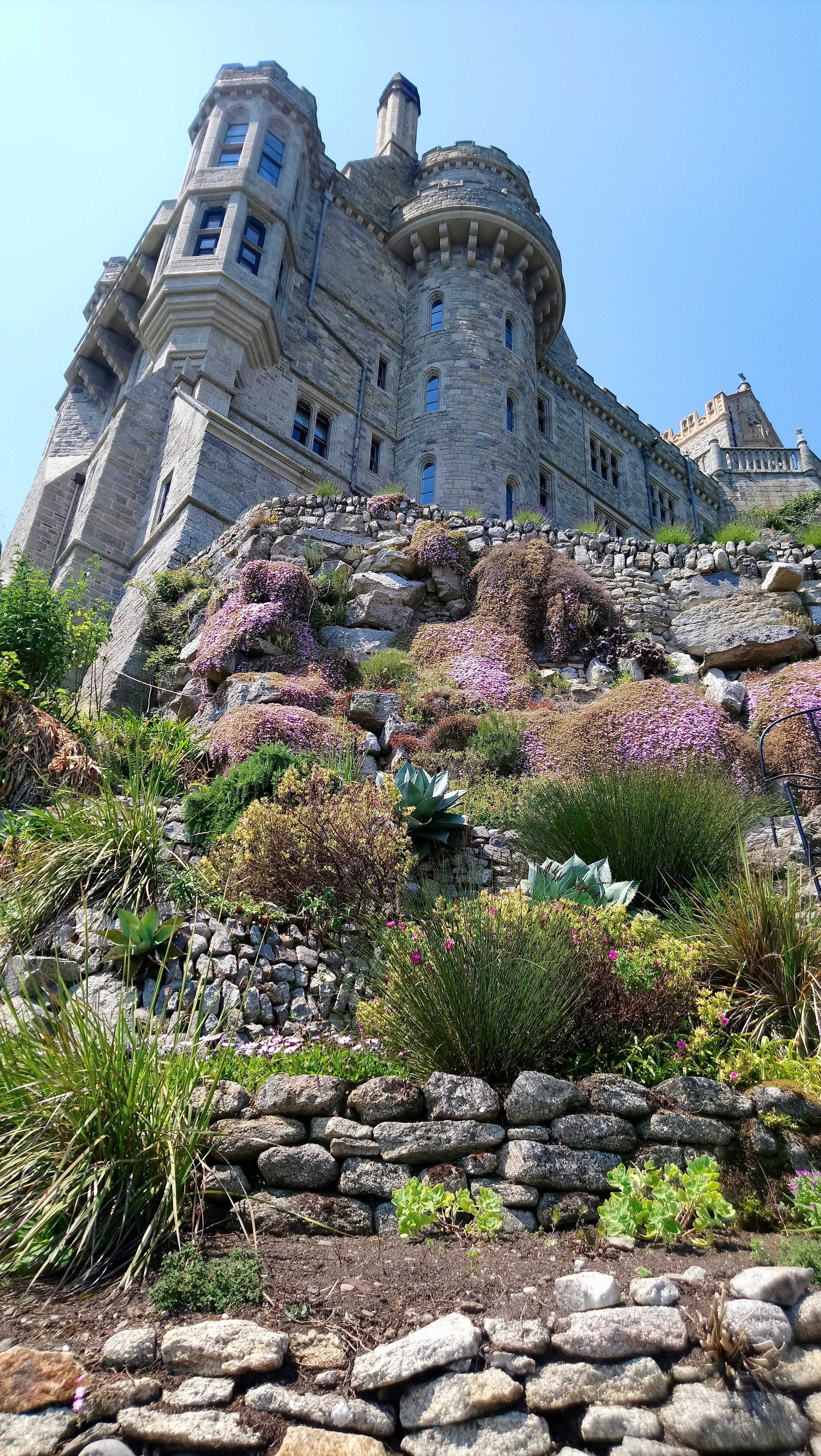 Tiered Gardens St.Michael's Mount, Cornwall