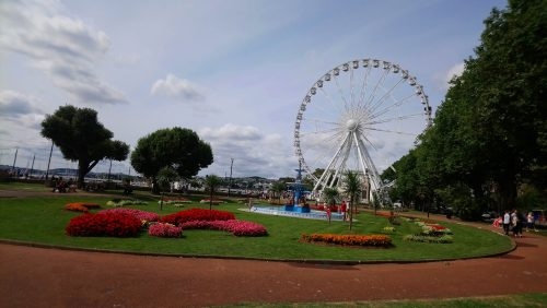 View of Torquay and the wheel
